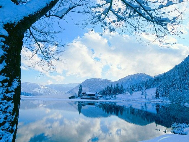 Winter in St. Ulrich am Pillersee